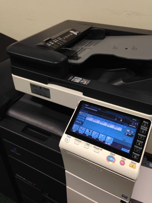 My friend, the scanning machine.